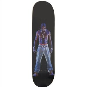 Supreme Tupac Hologram Skateboard Deck Black